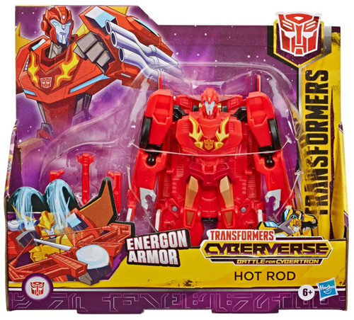 Transformers Cyberverse Battle for Cybertron Hot Rod Ultra Action Figure