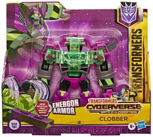 Transformers Cyberverse Battle for Cybertron Clobber Ultra Action Figure