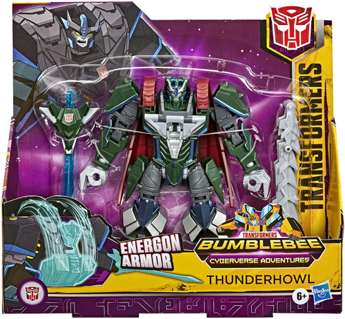 Transformers Cyberverse Battle for Cybertron Thunderhowl Ultra Action Figure (Pre-Order ships January)