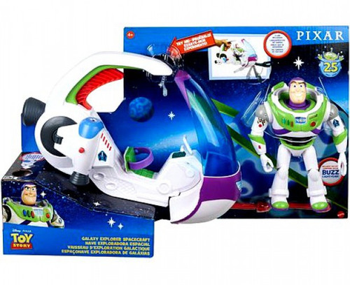 Toy Story 4 Galaxy Explorer Spacecraft Action Figure Playset [with Buzz Lightyear!] (Pre-Order ships September)