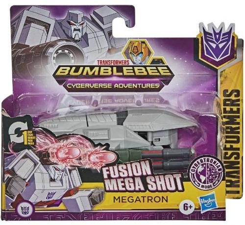 "Transformers Bumblebee Cyberverse Adventures 1 Step Changer Megatron 4.25"" Action Figure"
