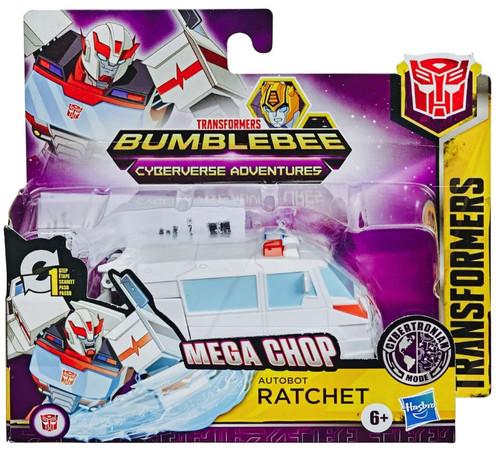 "Transformers Bumblebee Cyberverse Adventures 1 Step Changer Ratchet 4.25"" Action Figure"