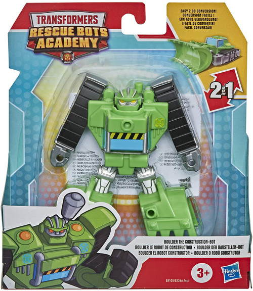 Transformers Playskool Heroes Rescue Bots Academy Boulder Action Figure
