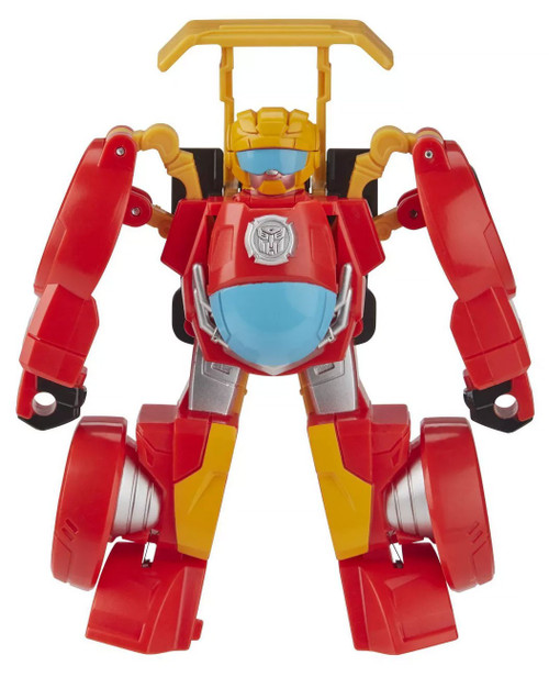 Transformers Playskool Heroes Rescue Bots Academy Hot Shot F1 Action Figure