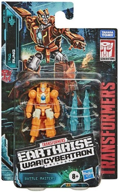 Transformers Generations War for Cybertron: Earthrise Rung Battle Master Action Figure