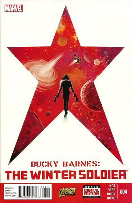 Marvel Bucky Barnes: The Winter Soldier #4 Comic Book