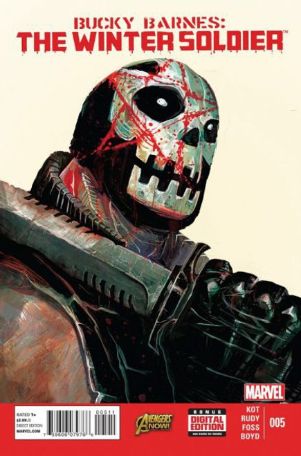 Marvel Bucky Barnes: The Winter Soldier #5 Comic Book
