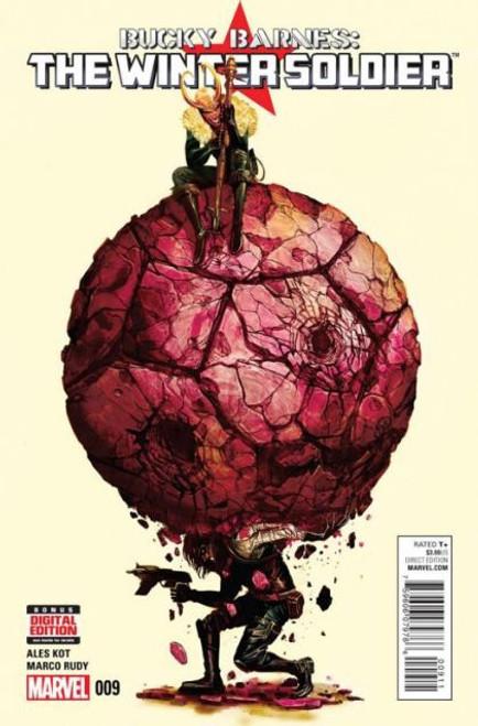 Marvel Bucky Barnes: The Winter Soldier #9 Comic Book