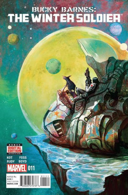 Marvel Bucky Barnes: The Winter Soldier #11 Comic Book