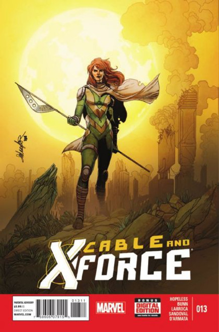 Marvel Cable and X-Force #13 Comic Book
