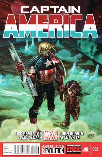 Marvel Captain America, Vol. 7 #2A Comic Book