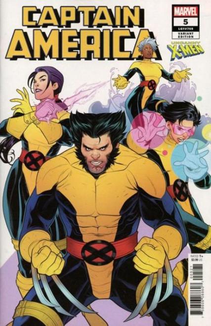 Marvel Captain America, Vol. 9 #5B Comic Book