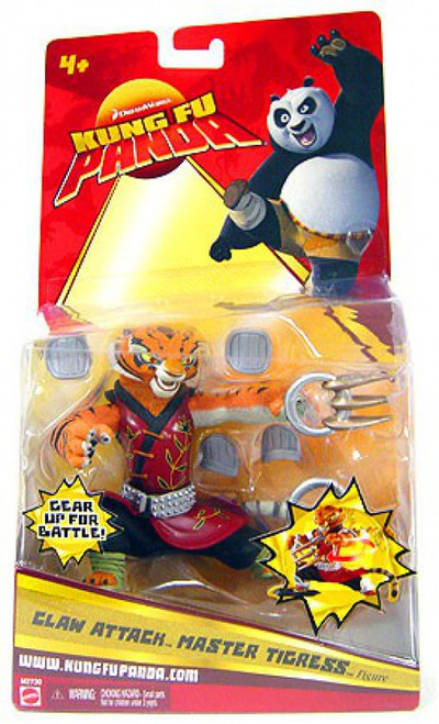 Kung Fu Panda Claw Attack Master Tigress Action Figure