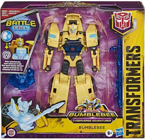Transformers Bumblebee Cyberverse Adventures Battle Call Bumblebee Trooper Action Figure