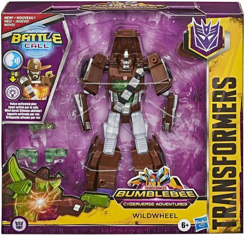 Transformers Bumblebee Cyberverse Adventures Battle Call Wildwheel Trooper Action Figure