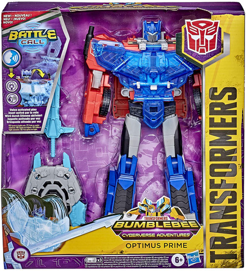 Transformers Cyberverse Battle Call Optimus Officer Action Figure (Pre-Order ships January)