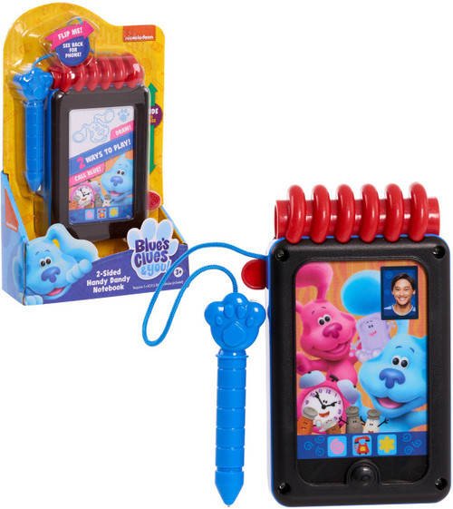 Leapfrog Blue's Clues & You! 2-Sided Handy Dandy Notebook Playset [Magnetic Pen!]