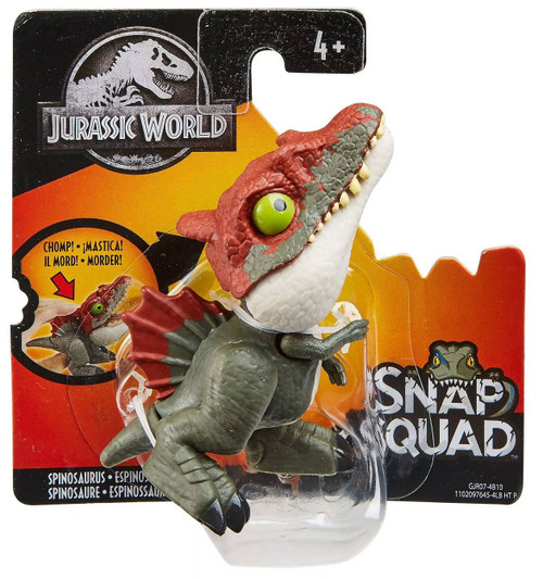 Jurassic World Snap Squad Spinosaurus Mini Figure [Dark Green]
