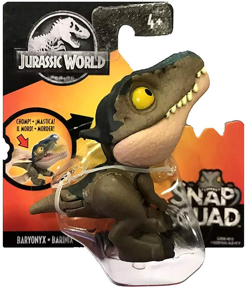 Jurassic World Snap Squad Baryonyx Mini Figure
