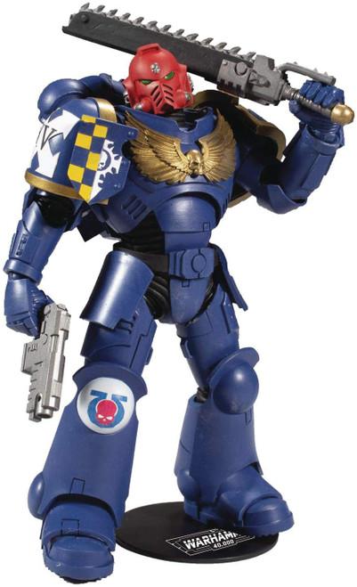 McFarlane Toys Warhammer Series 1 Ultramarines Primaris Assault Intercessor Action Figure