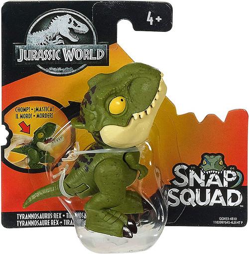 Jurassic World Snap Squad Tyrannosaurus Rex Mini Figure [Green Version]