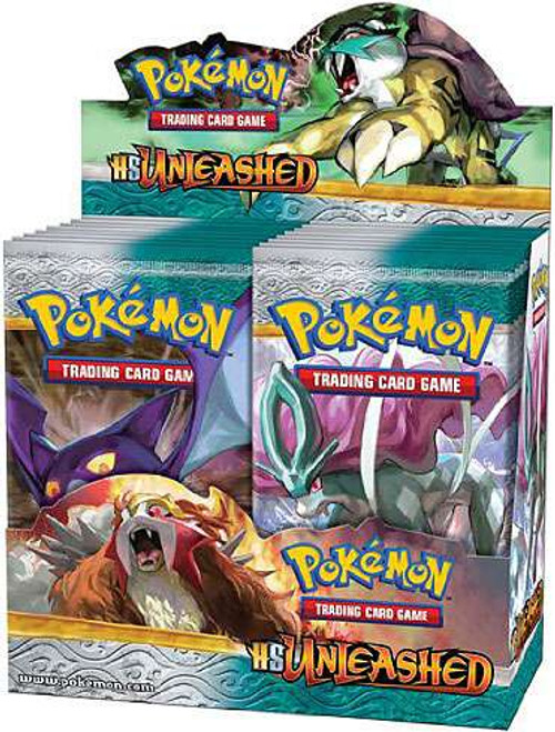 Pokemon Trading Card Game HeartGold SoulSilver Unleashed Booster Box [36 Packs]