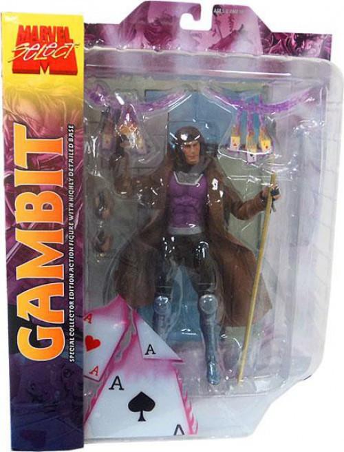 Marvel Select Gambit Action Figure [Longer Hair]
