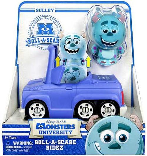 Disney / Pixar Monsters University Roll-a-Scare Ridez Sulley Figure Set