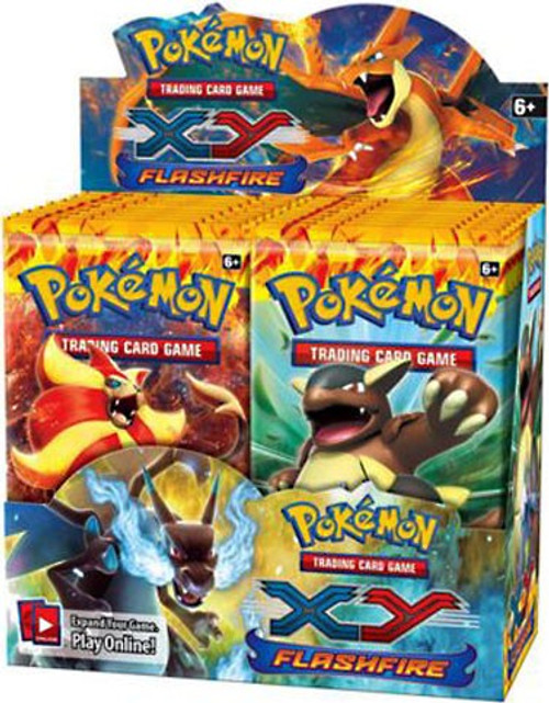 Pokemon Trading Card Game XY Flashfire Booster Box [36 Packs]