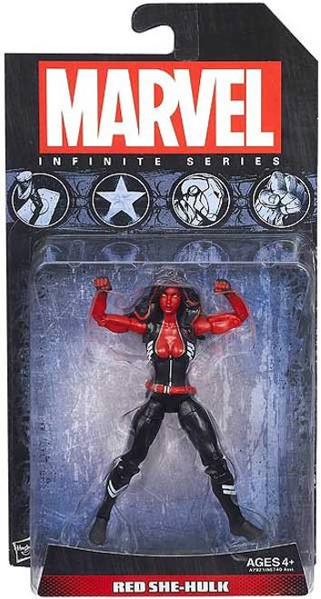 Marvel Avengers Infinite Series 2 Red She-Hulk Action Figure