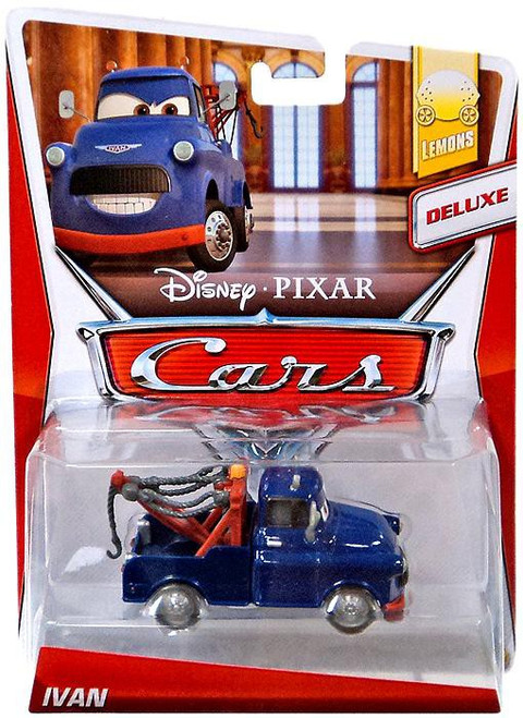 Pixar Disney C-32 Mater Ivan Type Diecast Model Car Toy New