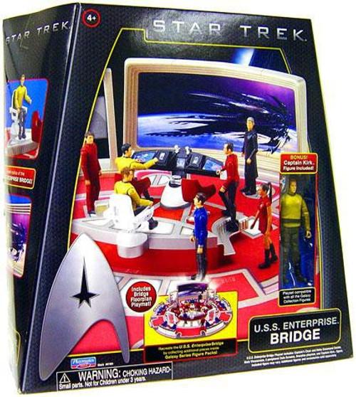 Star Trek 2009 Movie U.S.S. Enterprise Bridge Action Figure Playset [Damaged Package]