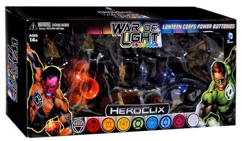 DC Heroclix War of Light Lantern Corps Power Batteries Accessory Set [Orange & Indigo]