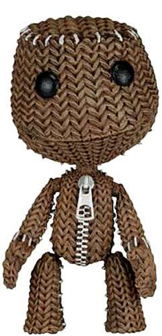 NECA Little Big Planet Series 2 Quizzical Sackboy Action Figure