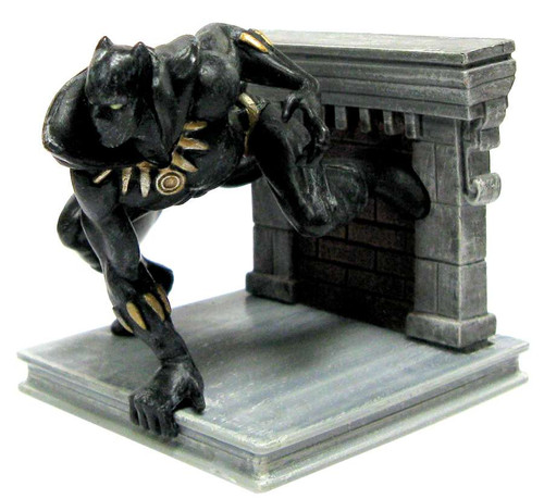 Disney Marvel Avengers Black Panther PVC Figure [Crouching Loose]