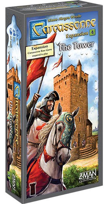Carcassonne: The Tower Board Game Expansion