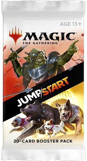MtG Trading Card Game Jumpstart Booster Pack [20 Cards]