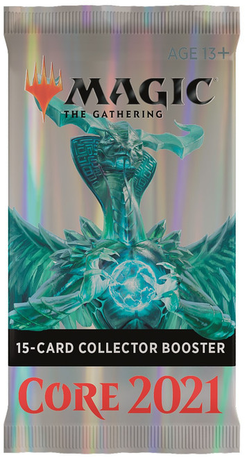 MtG Trading Card Game Core 2021 COLLECTOR Booster Pack [15 Cards]