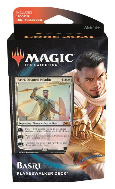 MtG Trading Card Game Core 2021 Basri Planeswalker Deck
