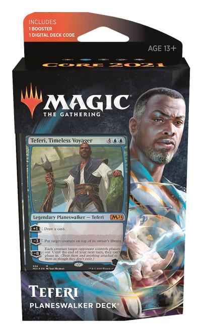 MtG Trading Card Game Core 2021 Teferi Planeswalker Deck
