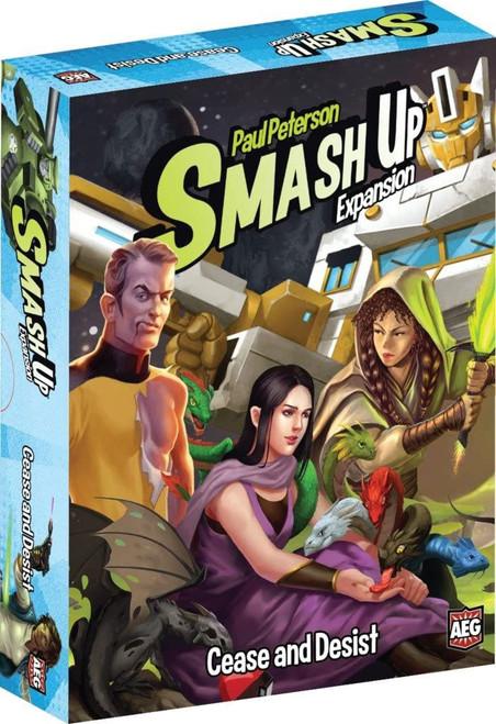 Smash Up Cease & Desist Board Game Expansion