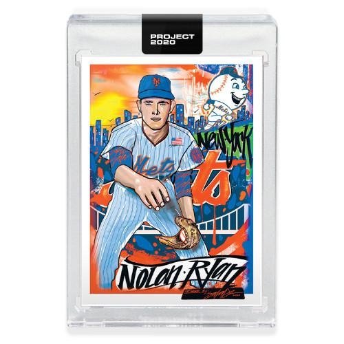 MLB Topps Project 2020 Baseball 1969 Nolan Ryan Trading Card [#105, by King Saladeen]