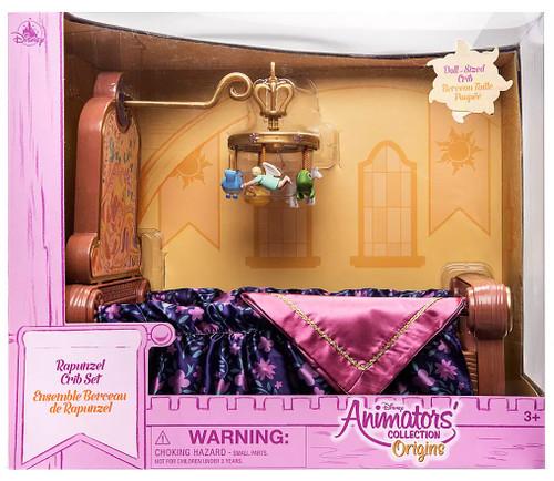 Disney Tangled Animators' Collection Origins Rapunzel Crib Set Exclusive 16-Inch Set [Damaged Package]