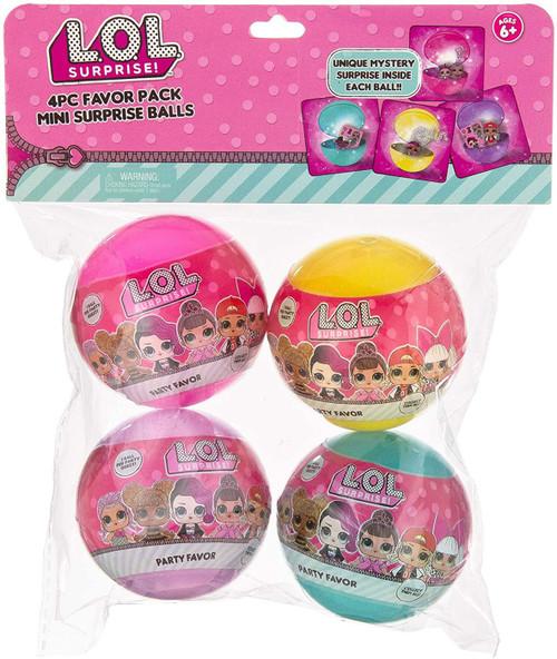 LOL Surprise Party Favor Mini Surprise Mystery 4-Pack