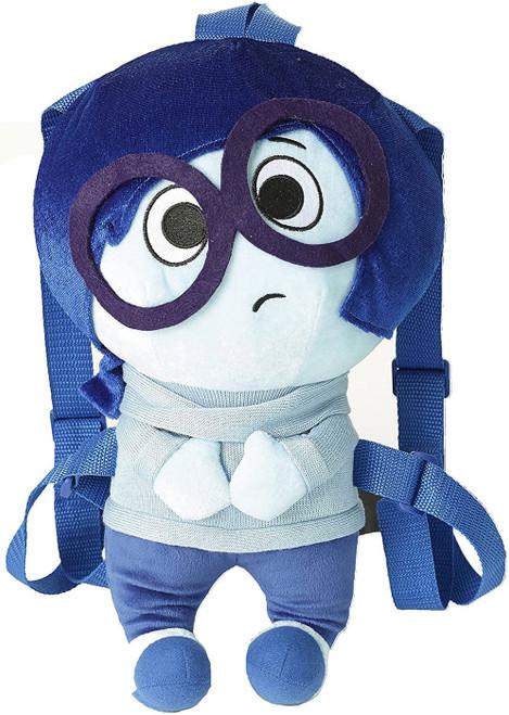 Disney / Pixar Inside Out Sadness 13-Inch Plush Backpack
