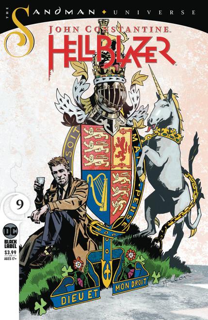 DC John Constantine Hellblazer #9 The Sandman Universe Comic Book