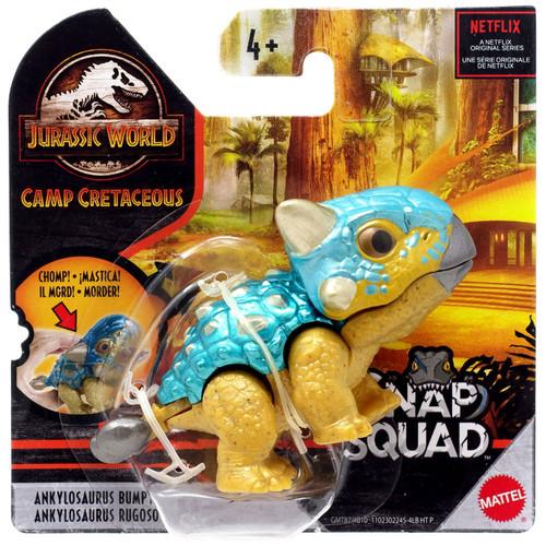 Jurassic World Camp Cretaceous Snap Squad Ankylosaurus Bumpy Mini Figure [Version 1]