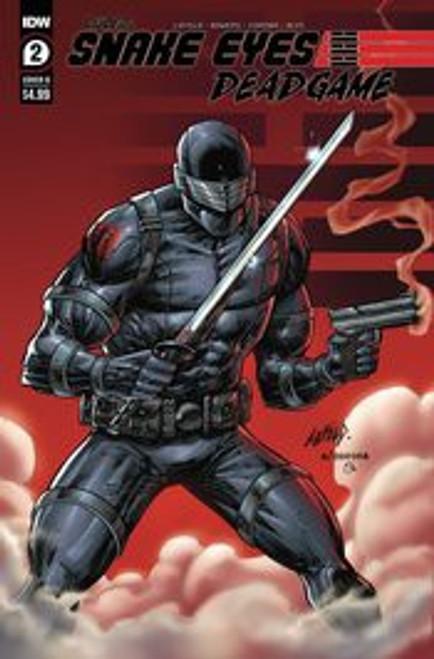 IDW Publishing Snake Eyes Deadgame #2B Comic Book