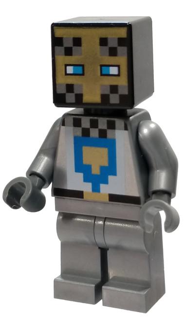 LEGO Minecraft Knight Minifigure [Loose]