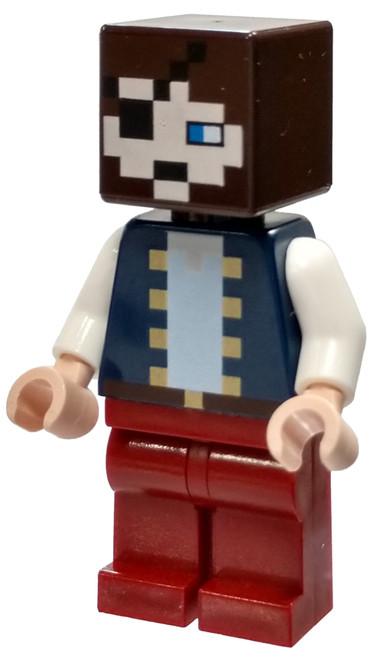 LEGO Minecraft Pirate Minifigure [Loose]